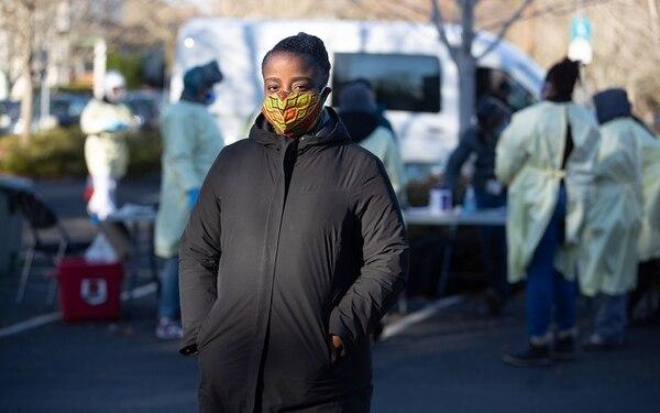 Charlene McGee says she understands Black Oregonians' doubts about vaccines, and wants to allay fears as she inoculates people.(Courtesy of Multnomah County)